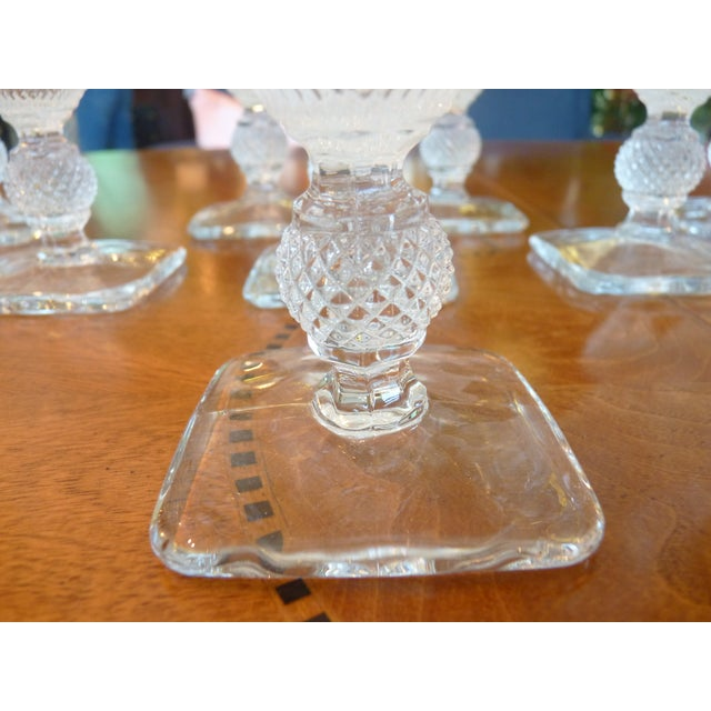Pressed Glass Footed Goblets - Set of 8 - Image 8 of 8