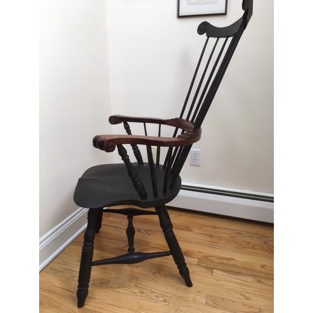 Philadelphia High-Back Windsor Chair For Sale - Image 5 of 6