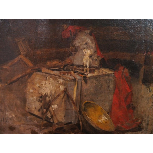 20th Century Still Life Painting by Georges Ernest Saulo For Sale - Image 4 of 8