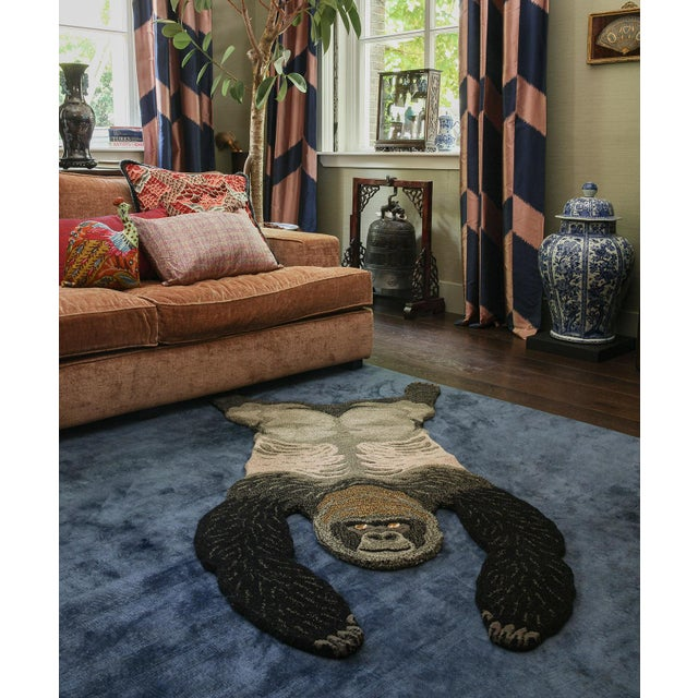 Doing Goods Groovy Gorilla Rug Large For Sale - Image 4 of 6