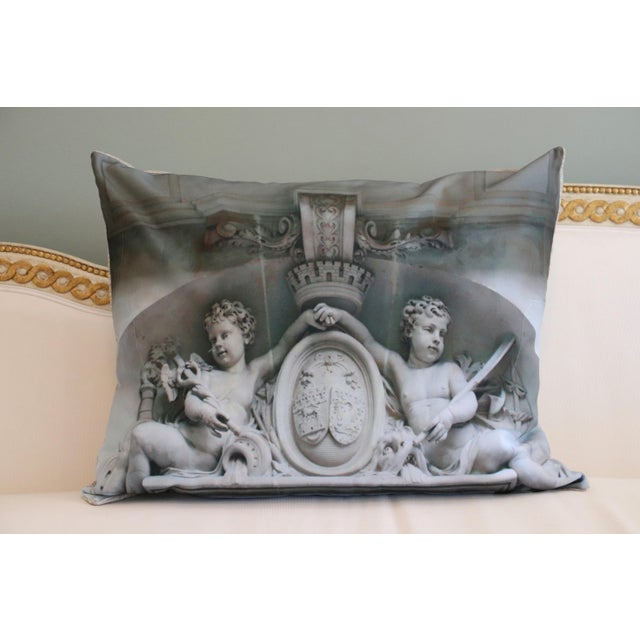Paris Photo Pillows by Swede Collection. Paris is known for its beautiful doors. Exterior Paris architecture photo of...