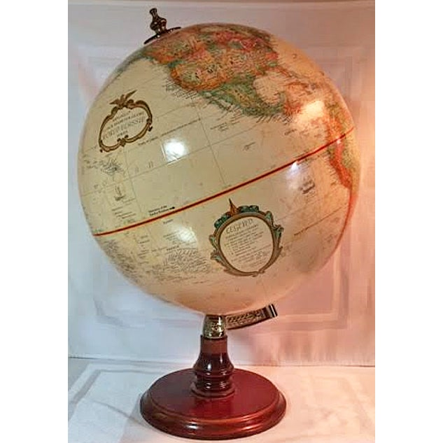 Children's Replogle World Classic Series Globe For Sale - Image 3 of 9