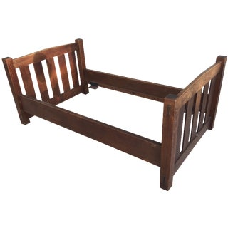 Early 20th-C. Gustav Stickley Day Bed For Sale