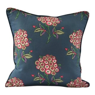 Tulu Textiles Inez Floral Pillow Cover For Sale