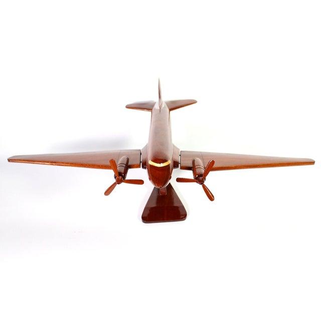 "Mid-Century Solid Wood DC-3 ""Dakota"" Model For Sale - Image 4 of 7"