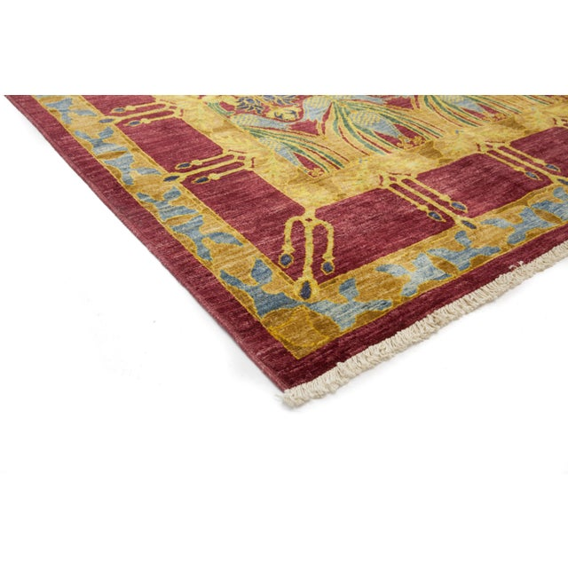 Made in Pakistan The Arts and Crafts designs made popular by English textile designer William Morris and Scotland's...