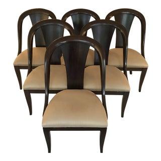 Bernhardt Martha Stewart Line Dining Chairs - Set of 6 For Sale