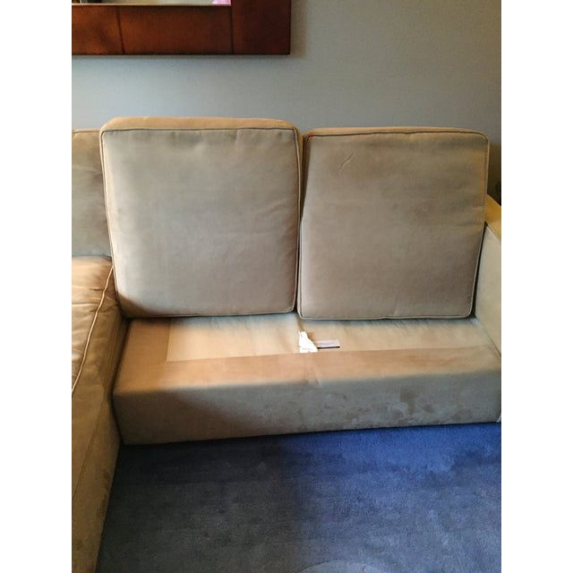 Room & Board York Sectional Sofa With Chaise Lounge - Image 5 of 11