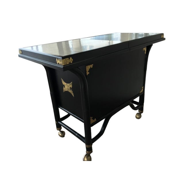 Ritts Mid-Century Bar Cart - Image 2 of 6