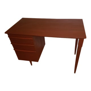 1960 Lloyd Flanders Mid-Century Modern Teak Desk For Sale