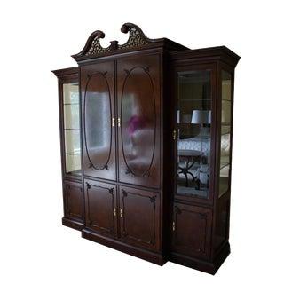 Century Furniture Classic Mahogany Entertainment Center For Sale