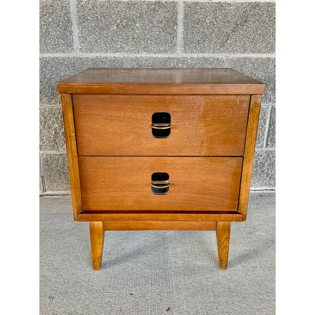 Vintage Mid-Century Modern Nightstand For Sale - Image 10 of 10