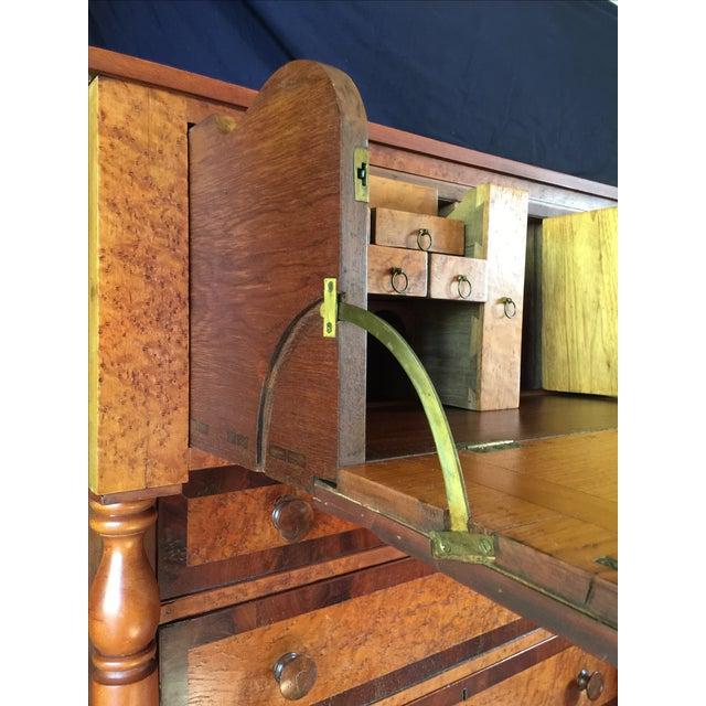 Birdseye Maple Butler's Desk - Image 7 of 9