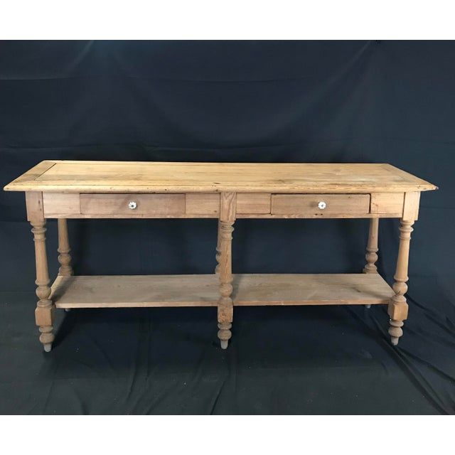 Mid 19th Century Antique French Pine Sideboard For Sale - Image 12 of 12