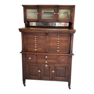 Vintage Medical Storage Cabinet