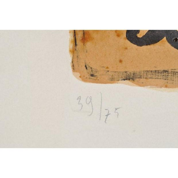 """Vintage """"Bird Vii"""" Lithograph by Georges Braques - Image 5 of 8"""
