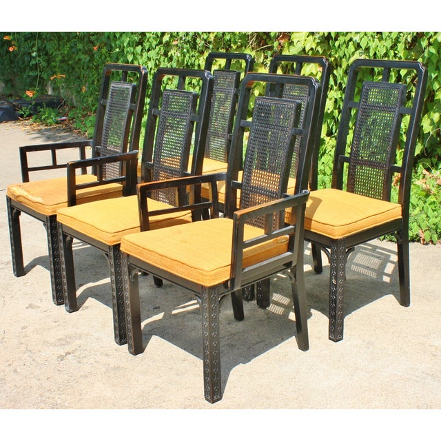 Vintage Chinese Chippendale Chairs - Set of 6 - Image 2 of 9