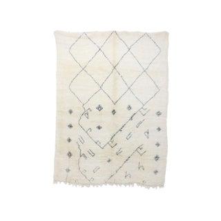 Vintage Beni Ourain Moroccan Rug - 6′10″ × 9′3″