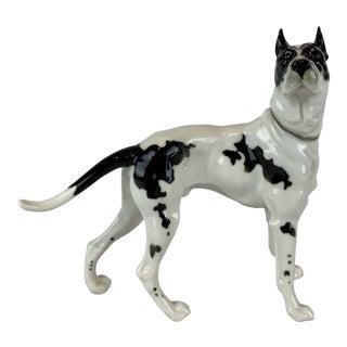 Hutschenreuther German Porcelain Dog Figurine For Sale