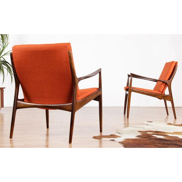 Mid-Century Mølgaard & Hvidt Chairs- A Pair - Image 2 of 6