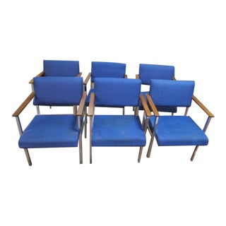 Vintage Mid Century Modern Jansko Dining Chairs- Set of 6 For Sale