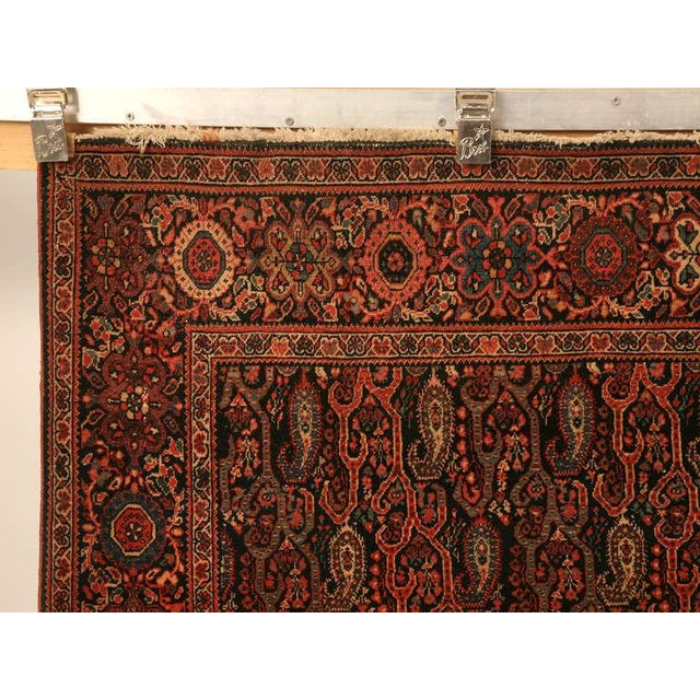 Antique Persian Bidjar Rug - 4′ × 6′4″ For Sale - Image 10 of 10