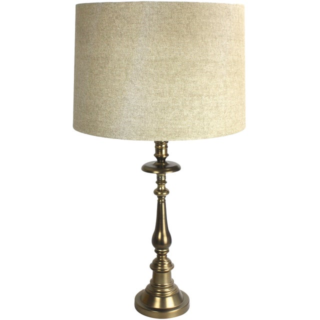 Stiffel Brass Candlestick Table Lamp - Image 1 of 7