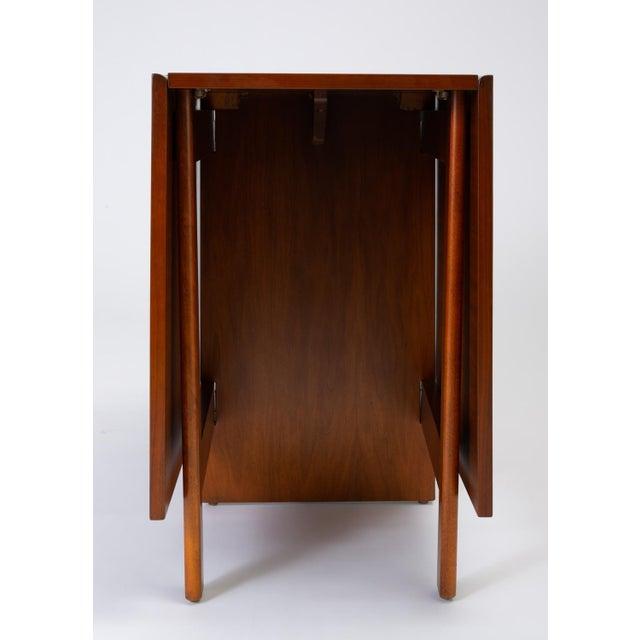 Walnut Model 4656 Gateleg Table by George Nelson for Herman Miller For Sale - Image 7 of 13