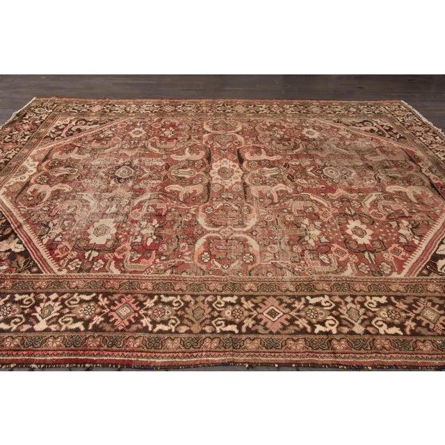 "Islamic Apadana Mahal Rug - 9'4"" x 12'2"" For Sale - Image 3 of 5"