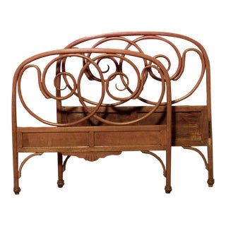 Bentwood Beech Twin Bed For Sale