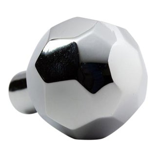 Facet-02L Polished Chrome Knob For Sale