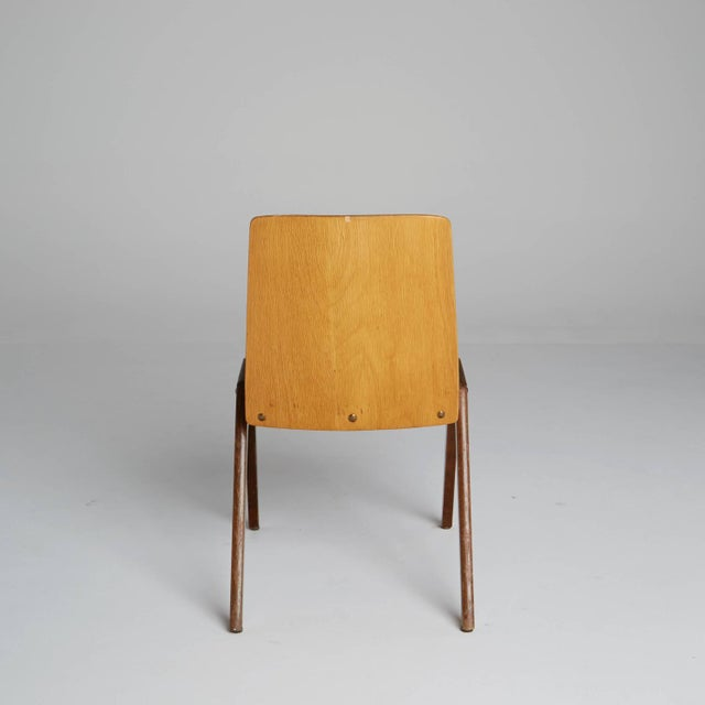 Thonet Wood Stacking Chairs - A Pair For Sale - Image 5 of 10