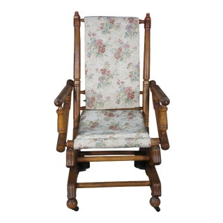 Victorian Style Platform Rocker For Sale