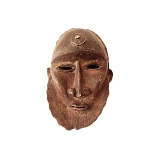 Dogon Bronze Mask For Sale