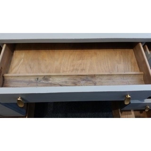 Gray Mid-Century Modern Sligh-Lowry Partner Desk For Sale - Image 8 of 10