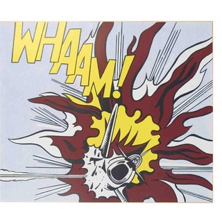 Roy Lichtenstein, Whaam B, 2007 Poster