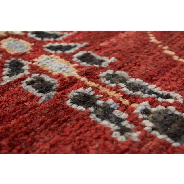 Early 21st Century Schumacher Meetra Area Rug in Hand-Knotted Wool Silk, Patterson Flynn Martin For Sale - Image 5 of 7