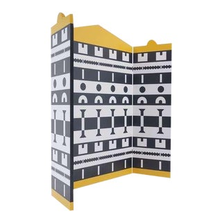 Folding Screen Designed by Alessandro Mendini and Alessandro Guerriero For Sale