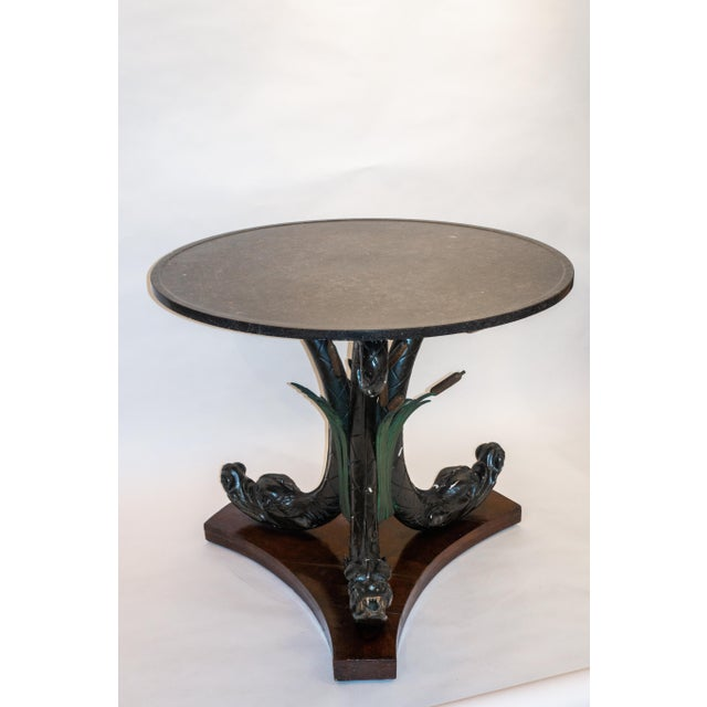 Neoclassical Austrian Neoclassical Center Table, Late 19th Century For Sale - Image 3 of 9