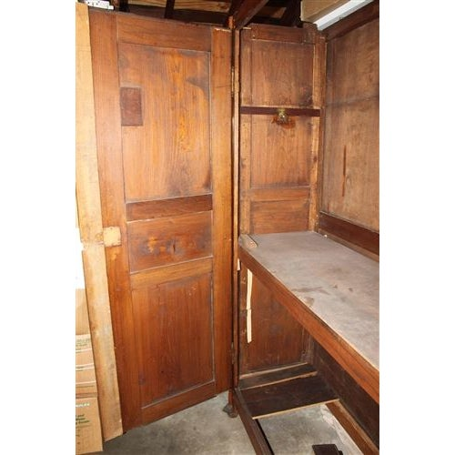 18th Century French Oak Armoire For Sale - Image 5 of 6