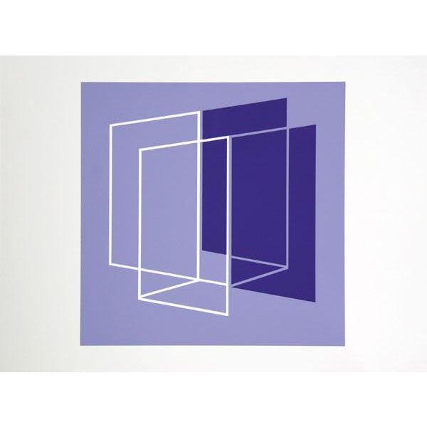 Abstract Expressionism Josef Albers - Portfolio 1, Folder 26, Image 1 Framed Silkscreen For Sale - Image 3 of 4
