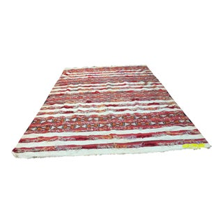 "Tribal Moroccan Wedding Rug - 5'7"" X 8'2"" For Sale"
