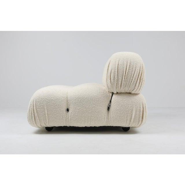Italian Camaleonda Bouclé Wool Sectional Sofa by Mario Bellini For Sale - Image 3 of 8