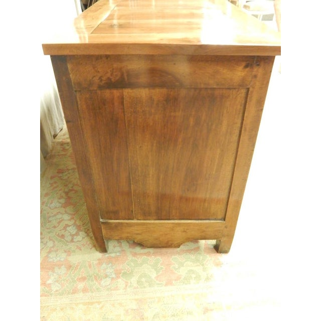 Early 19th French Walnut Enfilade For Sale - Image 10 of 11
