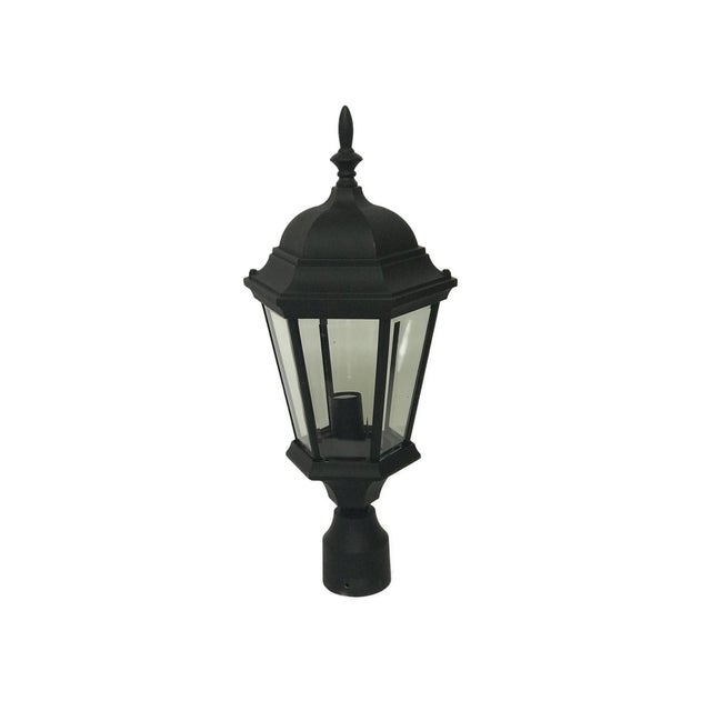 Aluminum Post Lanterns - A Pair For Sale - Image 4 of 5