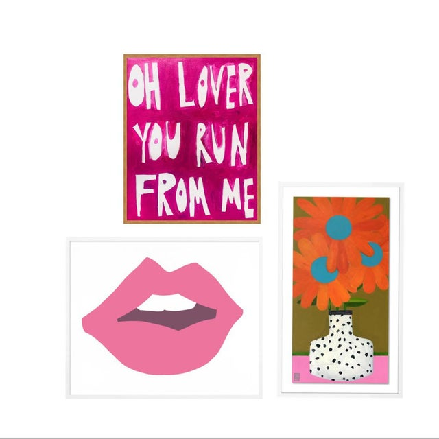 Young Love Gallery Wall, Set of 3 For Sale - Image 11 of 11