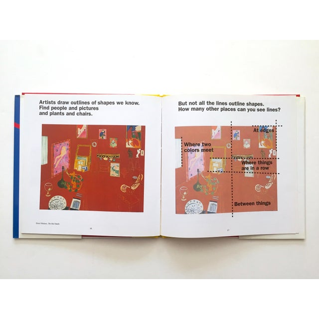 """"""" Colors, Shapes, Lines """" Rare Vintage 1991 1st Edition Museum of Modern Art Children's Art Books - Set of 3 For Sale - Image 11 of 12"""