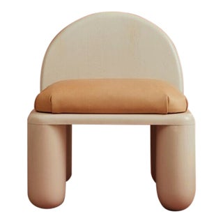 Modern Chubby Lounge Chair For Sale