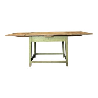 Antique French Farm Table Dining Table With Original Paint For Sale