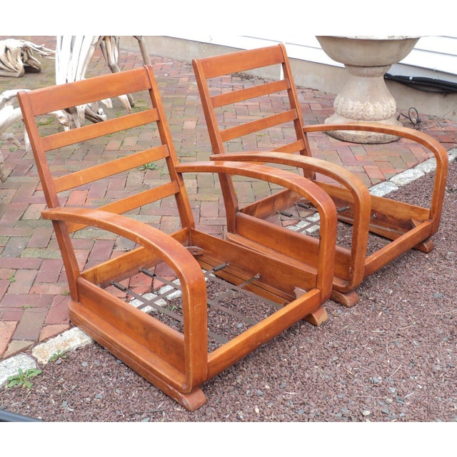 Mid-Century Club Chairs - A Pair - Image 7 of 11